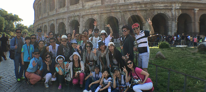 Nu Skin Team Elite 2016 Rome, Italy group photo