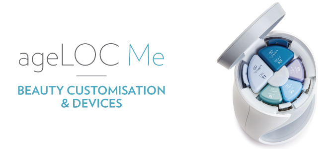 ageLOC Me beauty customization device